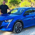 2019 Peugeot e-208 GT in Vertigo Blue
