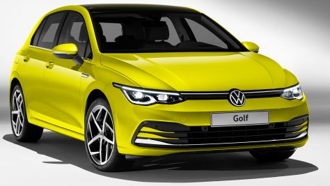 2019 Volkswagen Golf 8 Premiere. Image: VW / quickcarreview.com