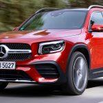 Mercedes-Benz GLB 220d 4MATIC; designo patagonia red metallic