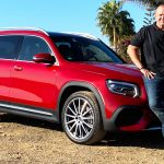 Mercedes-Benz GLB 220d 4MATIC; designo patagonia red metallic