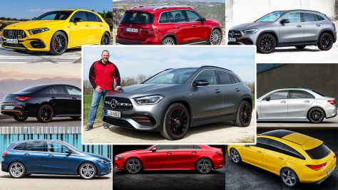 2020 Mercedes Compact Cars