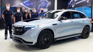 2020 Transparent Mercedes EQC 400