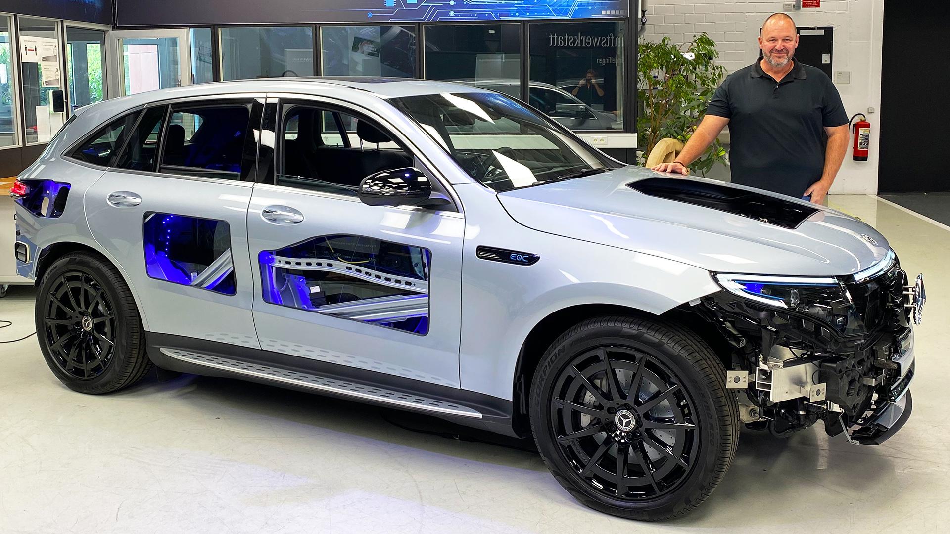 2020 Transparent Mercedes EQC 400