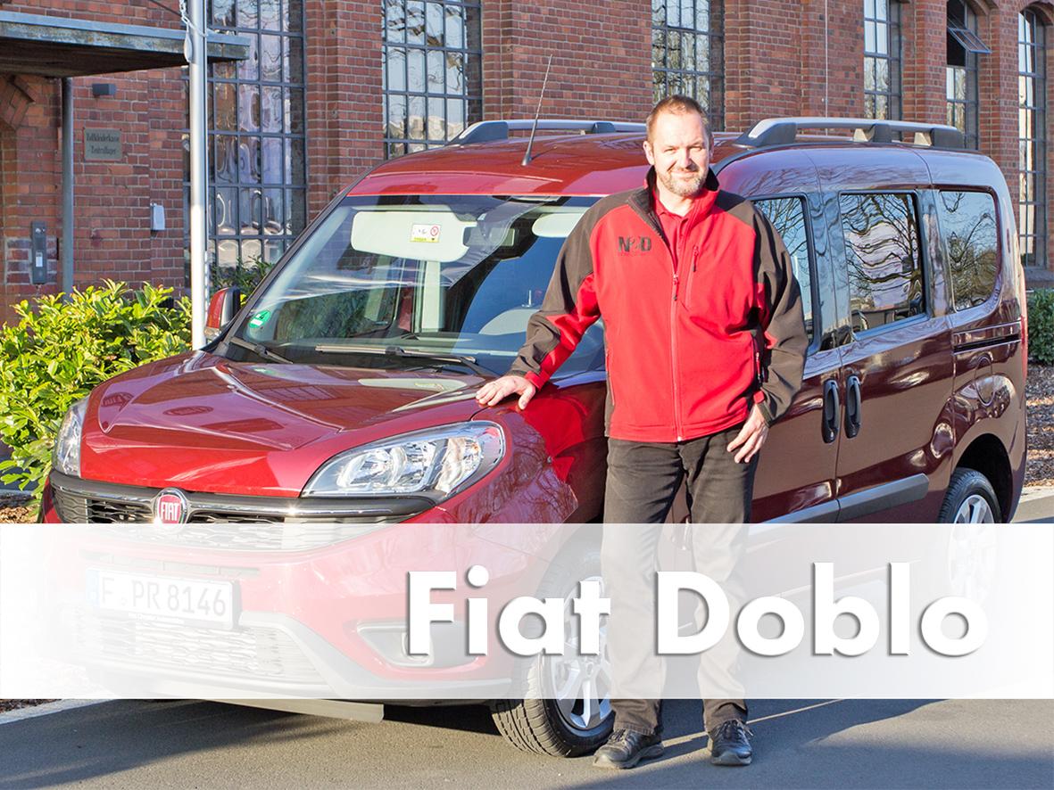 Video Review Fiat Doblo, Facelift 2015