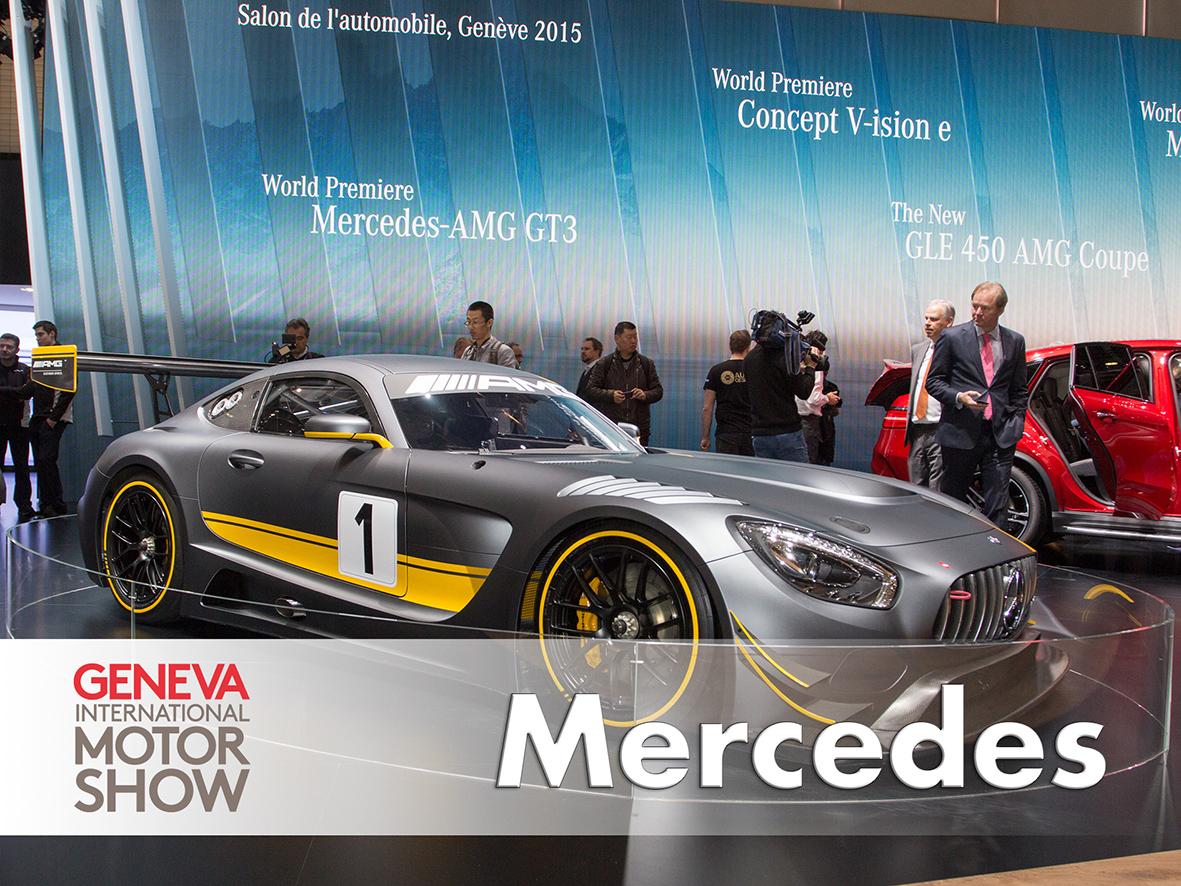 Mercedes AMG GT3 Geneva 2015