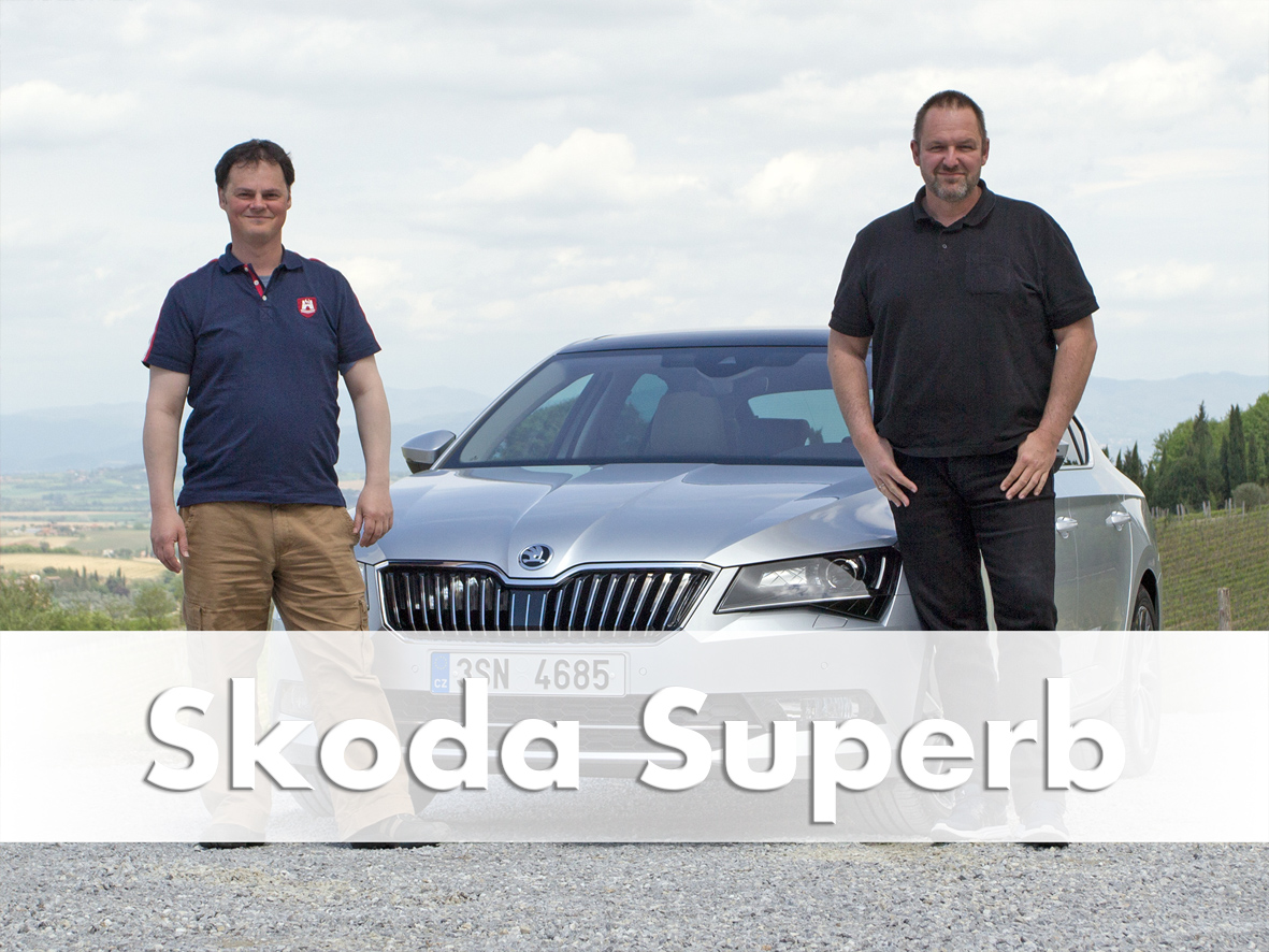 Skoda Superb 3, 2015, Florence, Driving Report, Video Review