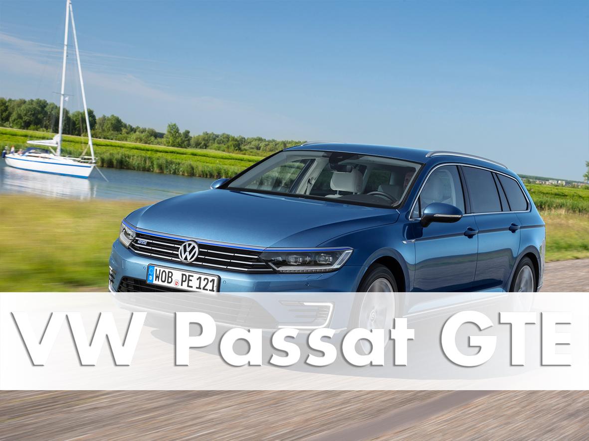 Volkswagen Passat GTE Estate, Amsterdam, 2015