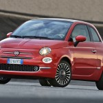 Test Fiat 500 , Model 2016 in Turin