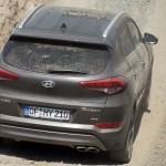 Going up steep hills with a Hyundai Tucson