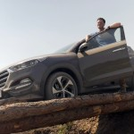 Brian Hayes with the all-new Hyundai Tucson