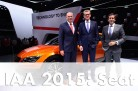 The World Premiere of the Leon Cross Sport in Frankfurt. Image: SEAT / http://autovideoreview.com