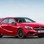 Mercedes-AMG A 45 4MATIC in jupiter red