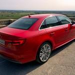 Audi A4 rear side