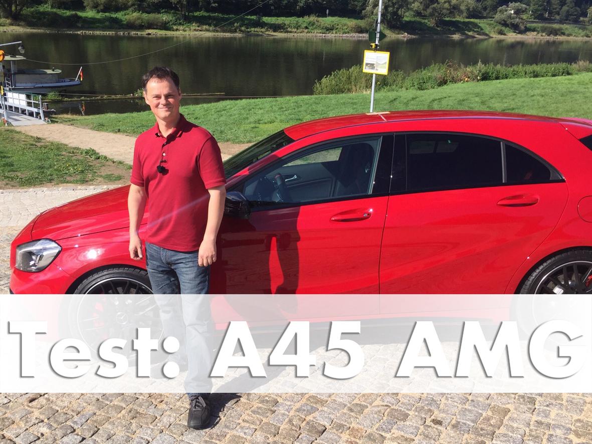 Mercedes-AMG A 45 4MATIC Test Drive