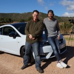 Tom and Brian with the 2016 Ibiza Cupra