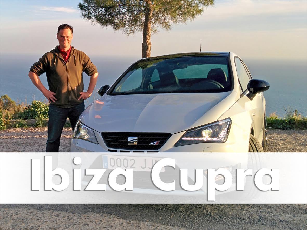 Brian Hayes with Seat Ibiza Cupra 2016