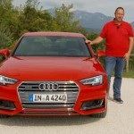 Lars Hoenkhaus with the New Audi A4
