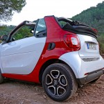 off-road with the smart Cabrio 2016