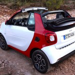 12 seconds to open the roof of the all-new smart Cabrio