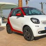 Available with 71 or 90 bhp - the smart Cabrio