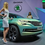 Skoda VisionS concept SUV