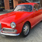 The Giulietta Sprint from 1956