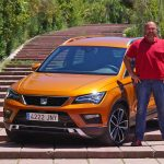 Lars Hoenkhaus with the Seat Ateca 2.0 TDI