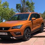 Seat Ateca 2.0 TDI - Front, side view