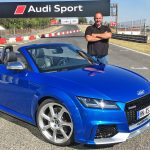 2016 Audi TT RS Roadster at the Jamara Racetrack