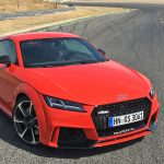 2016 Audi TT RS Coupe at the Jamara Racetrack