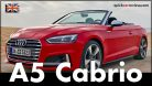 Audi S5 Cabrio 2017 Test Drive & Review. Picture: http://quickcarreview.com