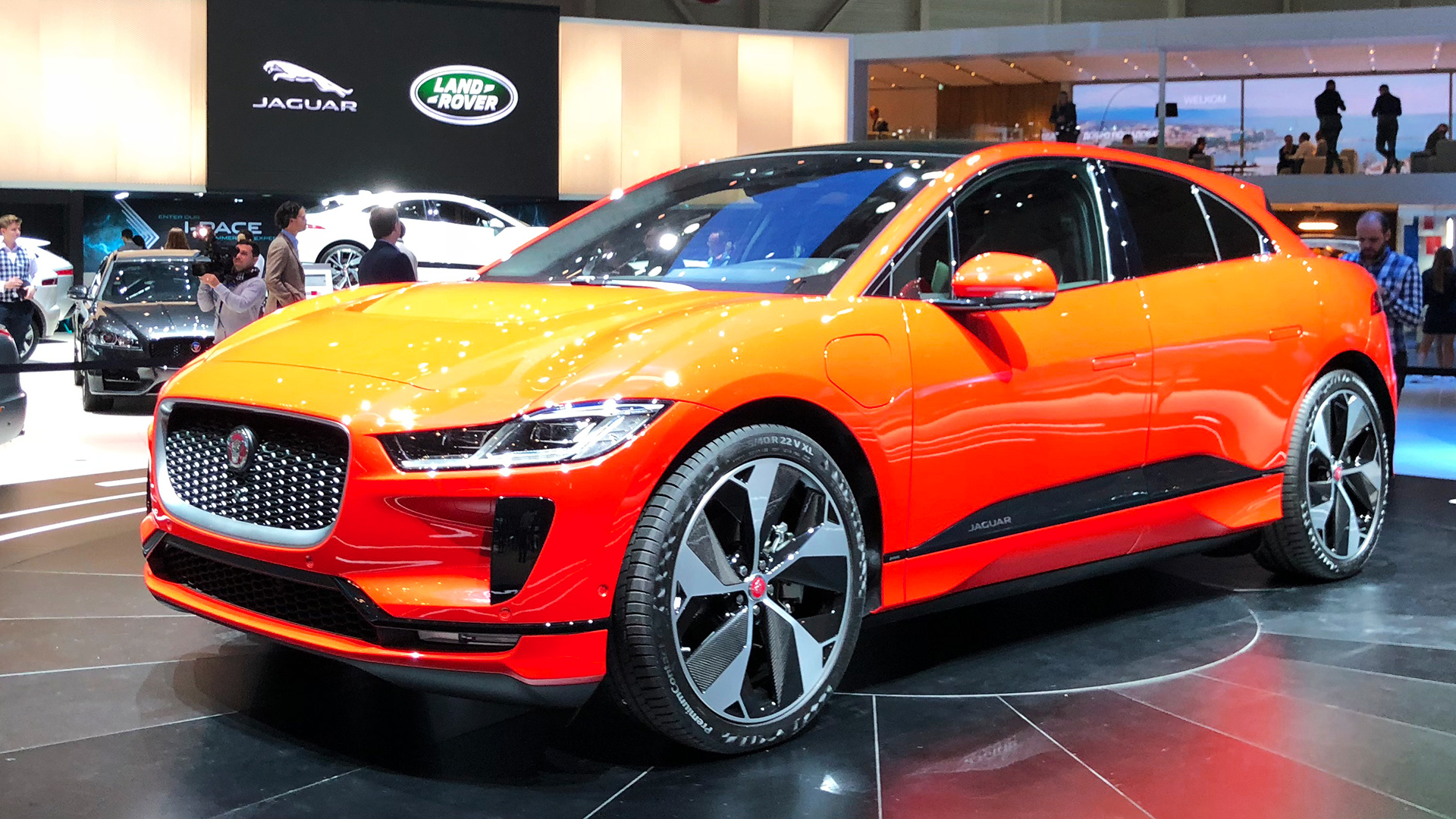 Geneva 2018: Premiere of the Jaguar I-Pace and Range Rover ...