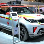 Land Rover Discovery Red Cross SUV