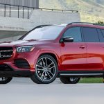 Mercedes-Benz GLS 580 4MATIC, designo cardinal red metallic