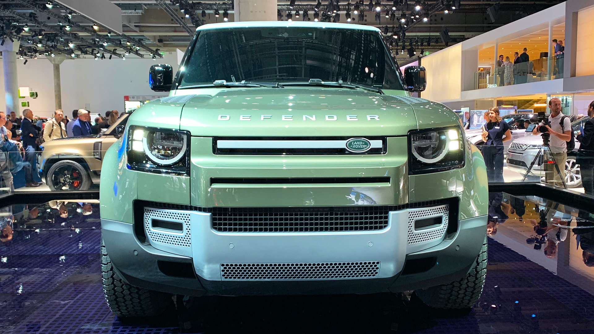 2019 new Land Rover Defender