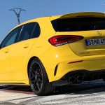Mercedes-AMG A 45 S in Sunny Yellow