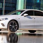 2020 Mercedes A 250 e Sedan, iridium silver metallic