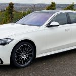 2020 Mercedes S 500 4Matic diamond white
