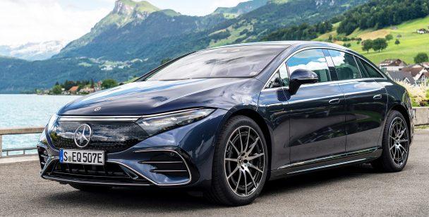 2021 Mercedes EQS 450+
